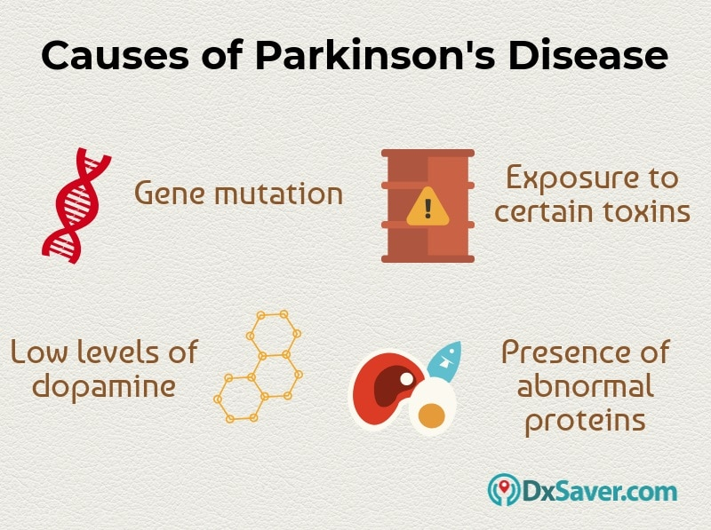 Know more about the causes of Parkinson's disease.