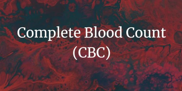 Complete blood count test measures the cells that make up the blood.