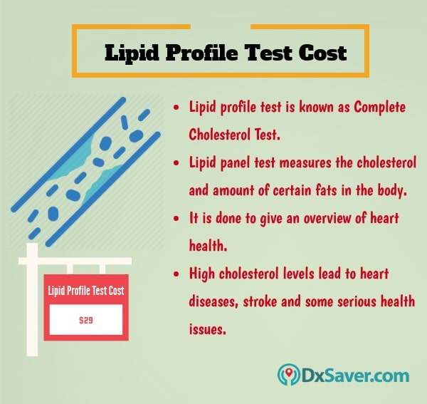 Know more about the lipid profile test cost in the U.S. and the purpose of taking lipid profile. Also know about Lipid Panel