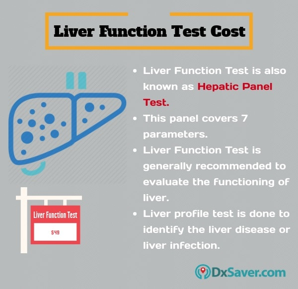 Know more about the liver function test cost in the U.S. and the important things of liver function test.