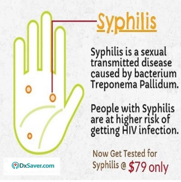 Know more about Syphilis and the Syphilis test cost in the US.