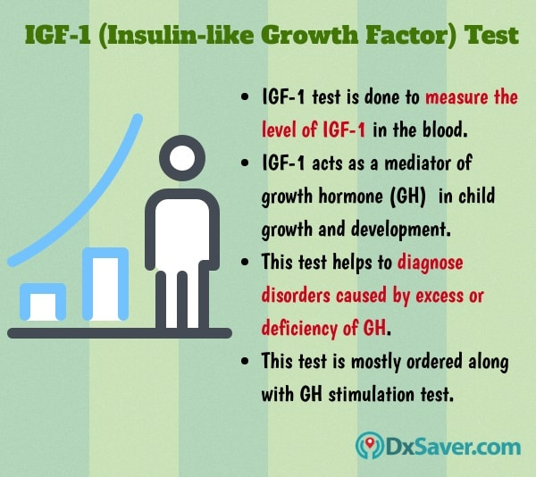 Know more about the importance of IGF-1 and the IGF-1 blood test.