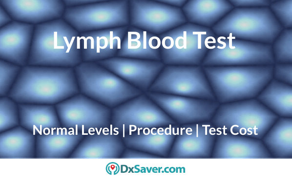 Lymph blood test cost, noram