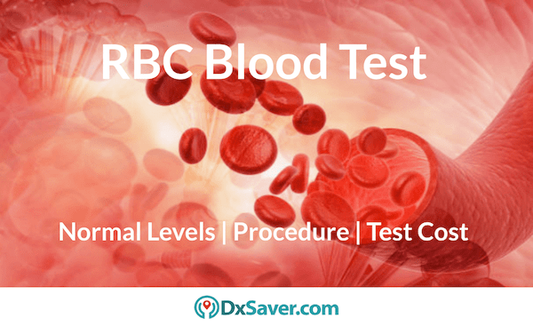 Red Blood Cells Count Test low count, high & normal levels.