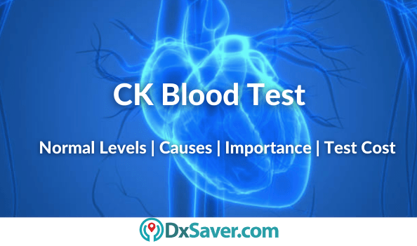 What is CK Blood Test & its normal levels and high levels causes