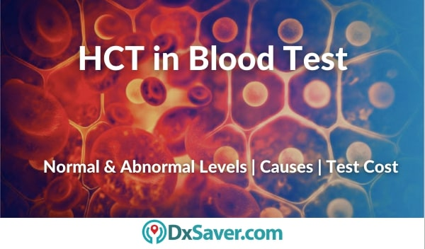 HCT Blood Test Cost in the US